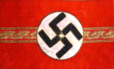 Нарукавная повязка ортгруппенляйтера в 1939-1945 годах.