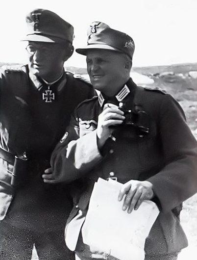 Георг Риттер и Карл Спрингеншмид. 1942 г.