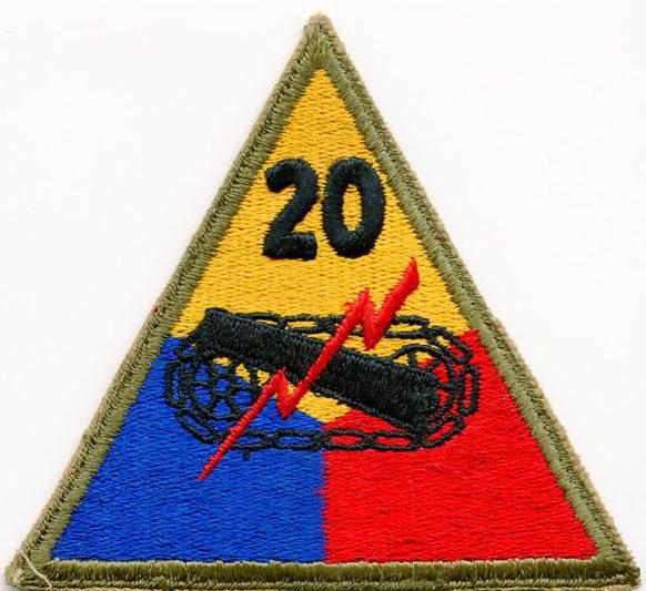 20-я танковая дивизия, созданная в 1945 г.