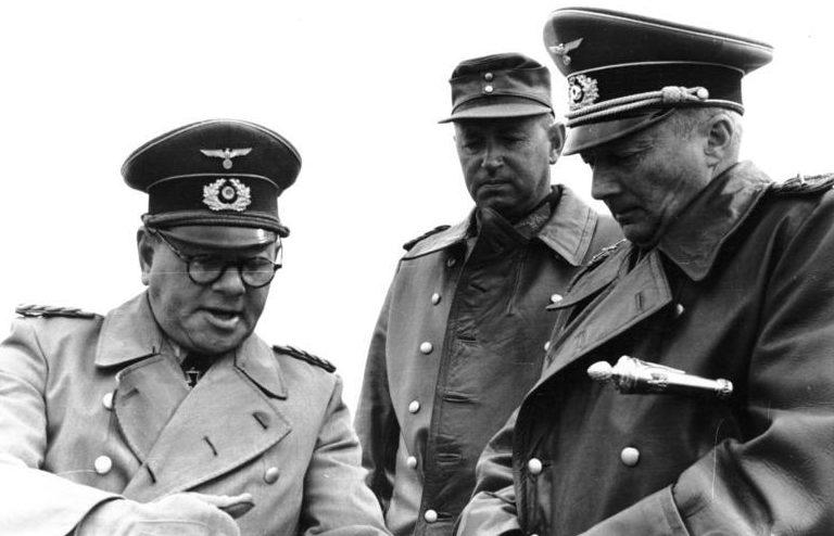 Ганс Клюге, Феликс Швальбе и Фридрих Нойманн. 1944 г.