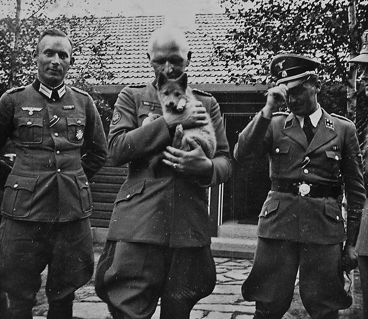 Альфред Йодль. Финляндия. 1942 г.