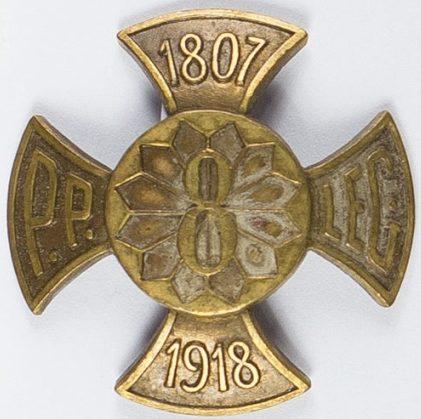 Солдатский полковой знак 8-го пехотного полка.