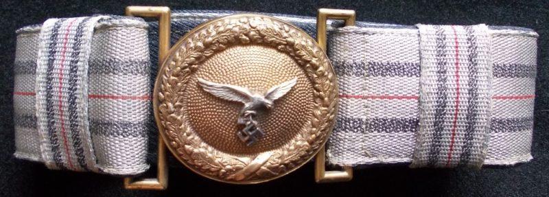 Ремень и пряжка парадного ремня генерала Luftwaffe.