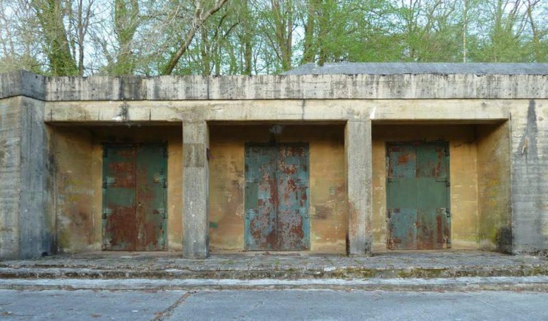 Центральный вход в бункер фюрера – сооружение № 001.