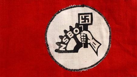 Нарукавные повязки сотрудников заводоуправления.