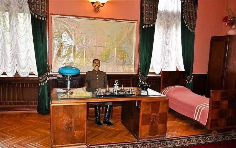 Кабинет Сталина на даче «Новая Мацеста».