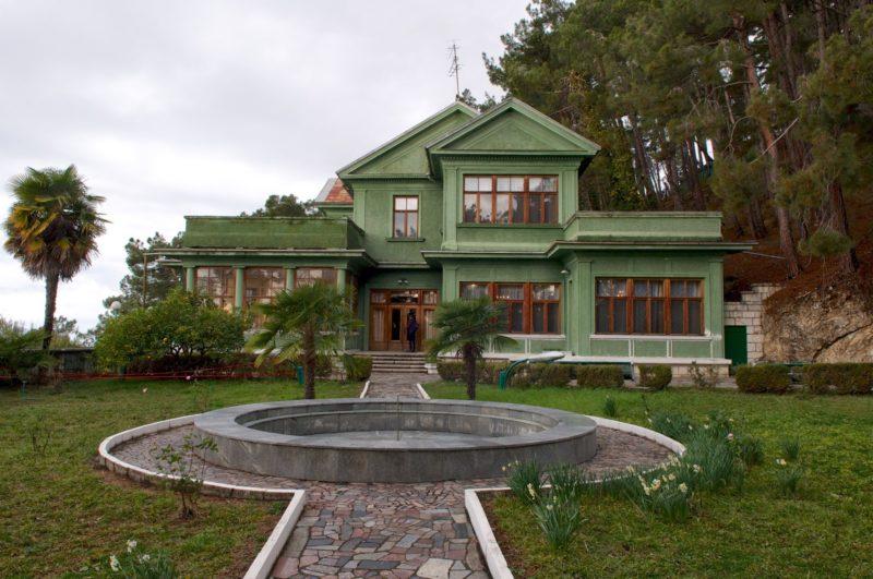 Дача «Холодная речка» в Абхазии.