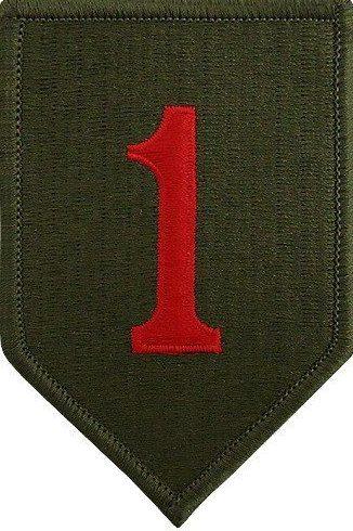 1-я пехотная дивизия. Созданная в 1942 году.
