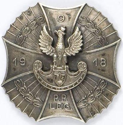 Солдатский полковой знак 9-го пехотного полка.