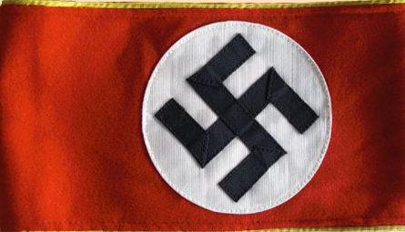 Нарукавная повязка специального уполномоченного (Sonderbeauftragter) в 1939-1945 годах.