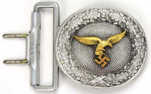 Парадный ремень и пряжка офицера Luftwaffe.