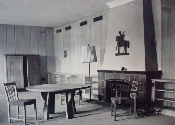 Главная рабочая комната в фюрербункере.