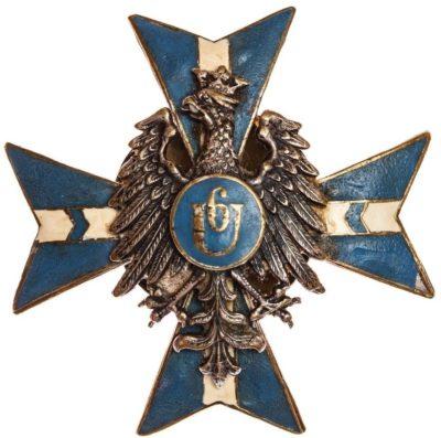 Офицерский полковой знак 6-го Канёвского уланского полка.