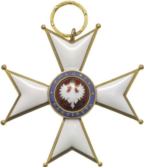 Аверс Большого Креста ордена Возрождения Польши.