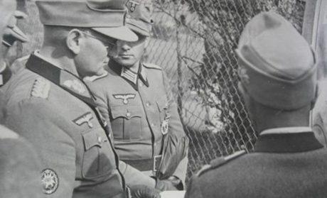 Георг Риттер с офицерами. 1943 г.