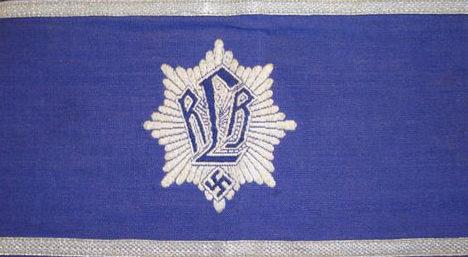 Нарукавные повязки офицера RLB.