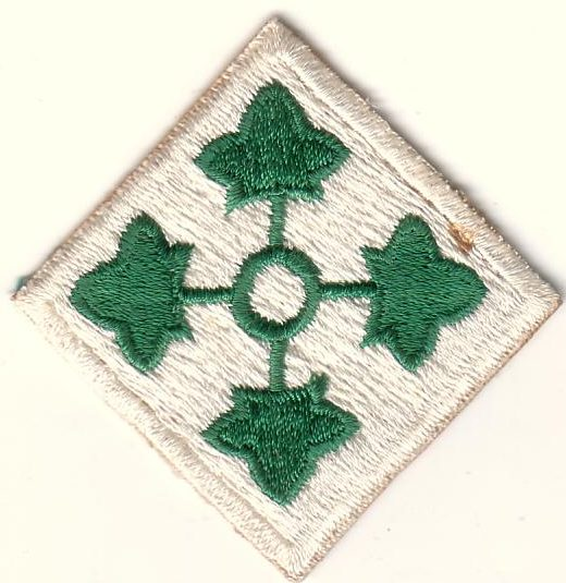 4-я пехотная дивизия. Созданная в 1944 году.