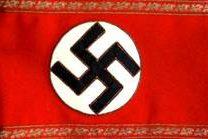 Нарукавная повязка руководителя ячейки (Zellenwarter) в 1939-1945 годах.