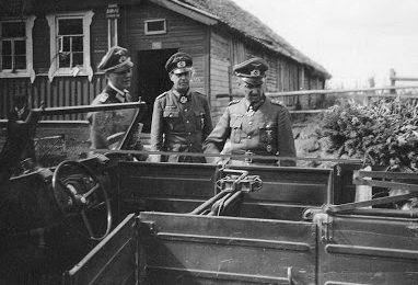 Вальтер Модель и Пол Данхаузер. 1942 г.