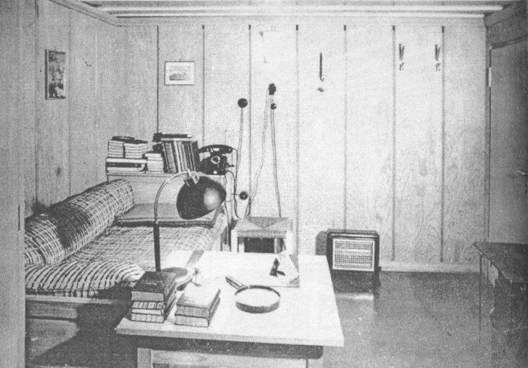 Спальня фюрера.