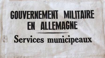 Нарукавная повязка муниципального служащего Франции.