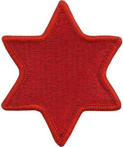 6-я пехотная дивизия. Созданная в 1944 году.