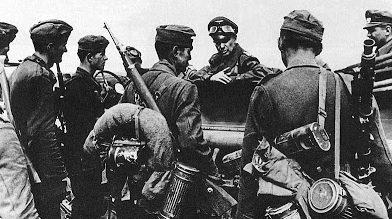 Вальтер Модель на Курской битве. 1943 г.
