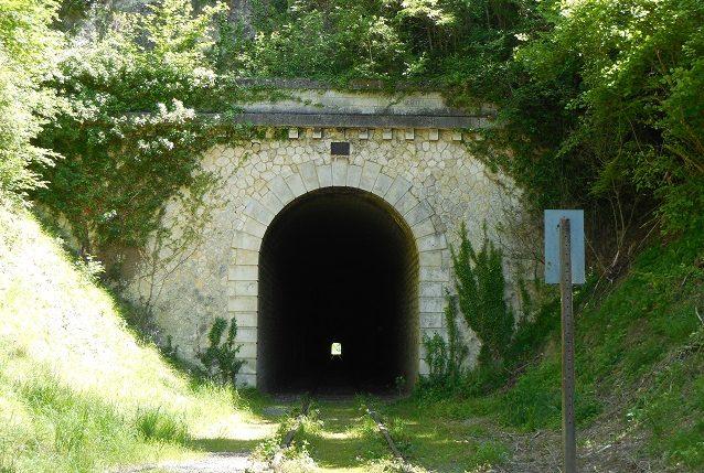 Южный конец тоннеля.