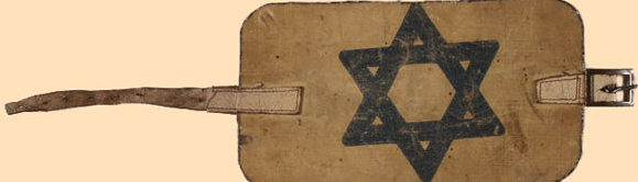 Стандартные нарукавные повязки евреев.