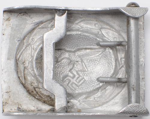 Ремень и алюминиевая пряжка рядового состава Luftwaffe.