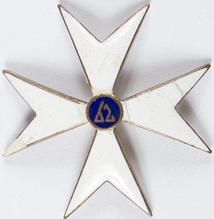 Полковой знак 62-го Великопольского пехотного полка.