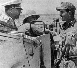 Бернхард Рамке в Северной Африке. 1942 г.
