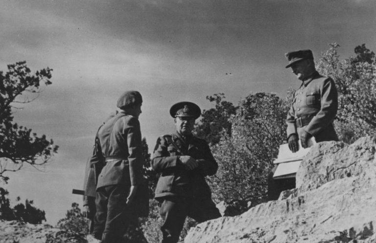 Рудольф Конрад и Уго Шваб в Крыму. 1944 г.