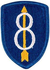 8-я пехотная дивизия. Созданная в 1944 году.