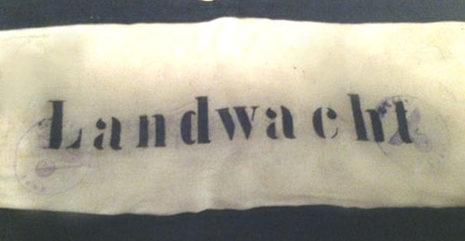 Нарукавные повязки военизированной охраны.