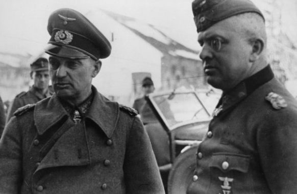 Вальтер Модель. 1943 г.