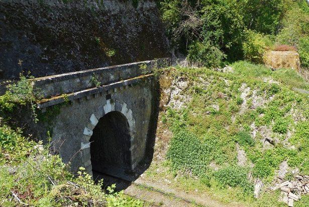 ДОТ прикрывающий вход в тоннель.