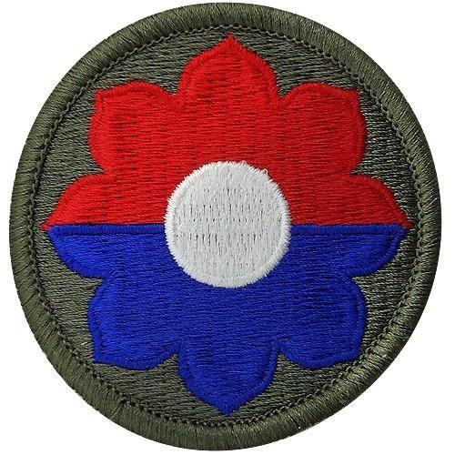 9-я пехотная дивизия. Созданная в 1942 году.