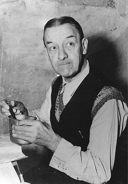 Эрих Рёдер в тюрьме. 1946 г.