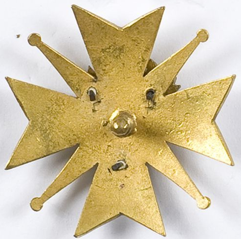 Аверс и реверс полкового знака 64-го Поморского полка мурманских стрелков.