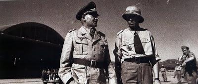 Бернхард Рамке и Фридрих фон Хейдте. Северная Африка. 1942 г.