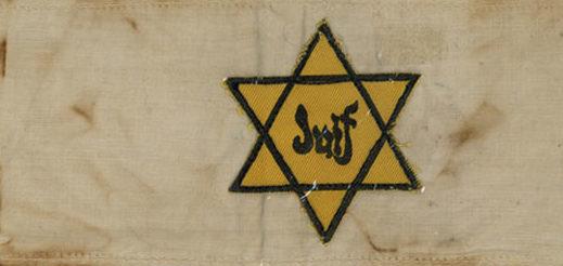 Нарукавная повязка евреев во Франции.