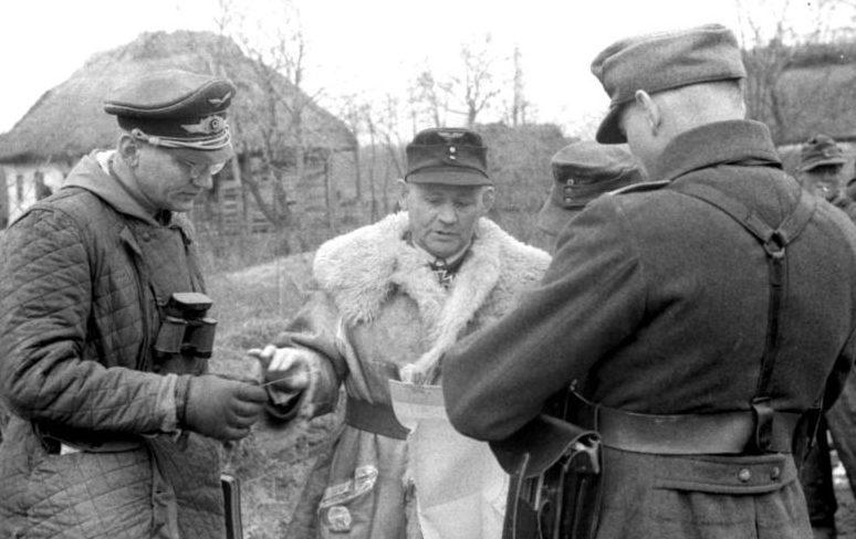 Бернхард Рамке в Италии. 1943 г.