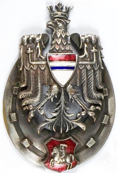 Полковой знак 10-го Литовского уланского полка.