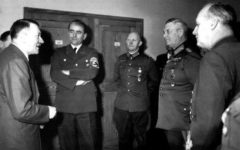 Гитлер в «Адлерхорсте». Январь 1945 г.