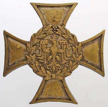 Солдатский полковой знак 65-го пехотного полка.
