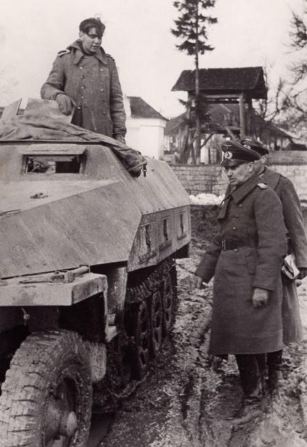 Вальтер Модель. Франция. 1944 г.