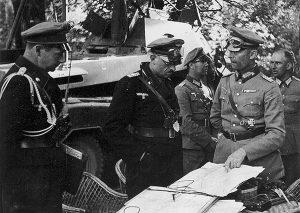 Георг Рейнгардт и Вальтер Крюгер. 1941 г.