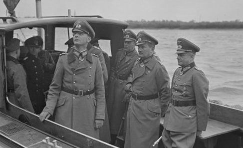 Георг Рейнгардт, Георг Риттер и Вальтер Браухич. 1942 г.