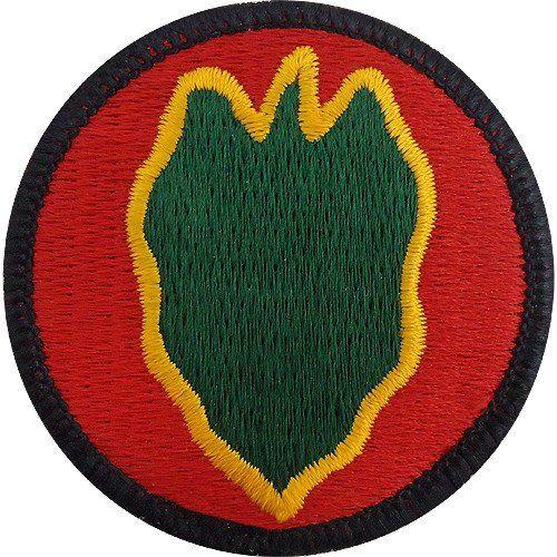 24-я пехотная дивизия. Созданная в 1944 году.